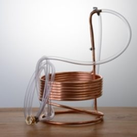 BSG Copper Immersion Wort Chiller 25′