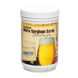 BRIESS SWEET WHITE SORGHUM SYRUP 3.3lb