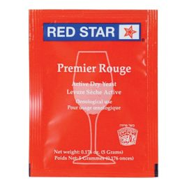 Red Star Premier Rouge (PASTEUR RED) ACTIVE FREEZE-DRIED Yeast