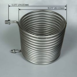 Blichmann BoilCoil and RIMS Rockets   Large HERMS Coil for 15-55 Gallon Kettle